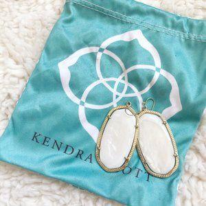 Kendra Scott Danielle Earrings In White